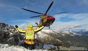 Disperso alpinista pinerolese in alta Val Chisone: ricerche in corso da questa notte