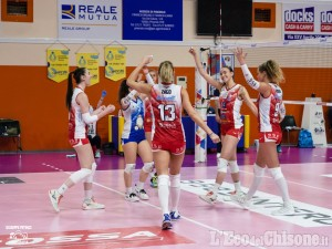 Volley serie A2, in Romagna rimonta Pinerolo fino al tie break: 3-2 Omag