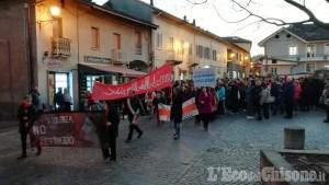 Piossasco: una marcia per ricordare Anna, uccisa a coltellate dal marito