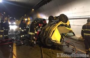 Schianto frontale sulla Circonvallazione di Avigliana, muore 30enne di Giaveno