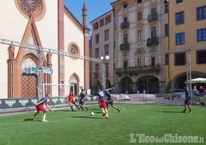Pinerolo: torneo di calcio nel cuore della città vecchia