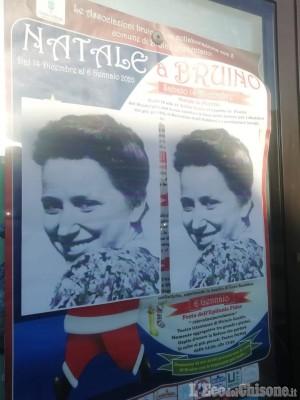 Bruino: Casa Pound affigge l'immagine dell'istriana Cossetto e replica al post del segretario Pd