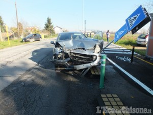 Incidente tra Vinovo e Candiolo, nessun ferito grave