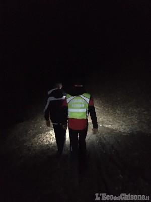 Sangano: 16enne si perde nei boschi, l'intervento del Soccorso alpino
