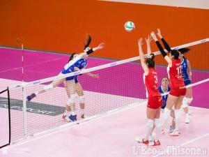 Volley serie A2 femminile, Pinerolo espugna con caparbietà Sassuolo, ultima trasferta di regular