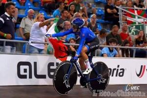 Ciclismo su pista, oro individuale della Gasparrini: sua la gara Omnium agli Europei in Belgio