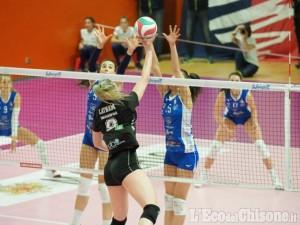 Volley serie A2 donne, in pool promozione Pinerolo inizia nel migliore dei modi