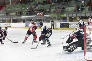 Hockey ghiaccio Ihl, playoff: Bressanone - Valpeagle LIVE TEXT E VIDEO 3-4 all''OVERTIME PETROV!!!!