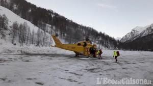 Pragelato: travolto da una slavina, muore scialpinista sul Morefreddo