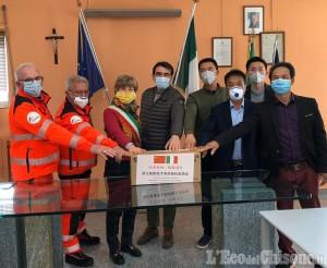 Bagnolo, donate 500 mascherine dall'Associazione Italia - Cina di Cuneo