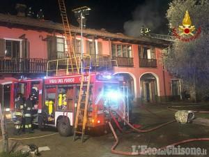 San Secondo: fiamme nella notte in una abitazione di via Godino