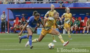 Bricherasio festeggia la campionessa di calcio femminile Barbara Bonansea