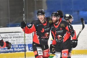 Hockey ghiaccio, ottima Valpeagle davanti a 1000 spettatori: 6-2 al Fiemme