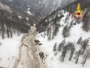 Massello: slavina a Occie, un abitante evacuato con l'elicottero