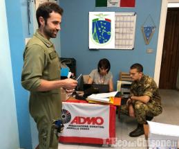 """I militari del 34º Aves """"Toro"""" di Venaria Reale con l'Admo: 26 iscritti per la donazione"""