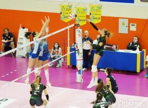Volley serie A2, Pinerolo corsara a Milano: 1 a 3