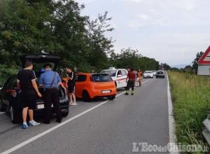 Garzigliana: scontro tra Fiat Punto, due ragazze in ospedale
