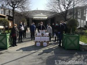 """Le comunità cinese dei """"nostri"""" Comuni donano 4.500 mascherine a Bagnolo e ad altri cinque paesi"""