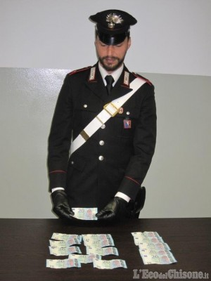 Saluzzo: acquisti con banconote false, arrestato dai carabinieri