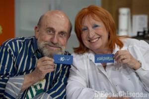 Giaveno: Margherita Fumero ed Enrico Beruschi martedì 12 in piazza