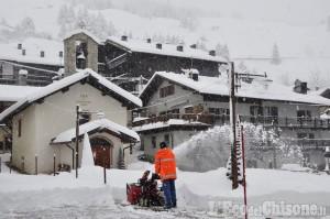 Neve: registrati 45 cm a Pragelato, e circa 80 in alta quota, al Barant o al Fraiteve