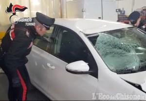 Stupinigi: arrestato nella notte il pirata della strada, è un operaio di Giaveno
