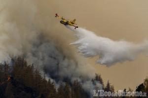 Incendio di Roure: «Torniamo lentamente verso la normalità»