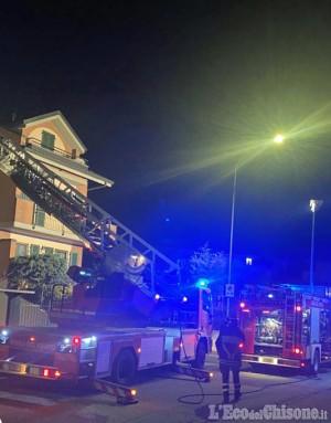 Candiolo: incendio nella cucina di un appartamento, un uomo finisce intossicato in ospedale