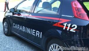 Cumiana: aggredisce i carabinieri e sfonda il finestrino dell'auto di servizio, arrestato 28enne