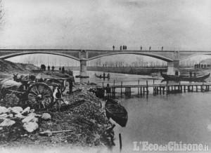 Cardè celebra i 100 anni del ponte sul Po