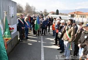 Pinerolo: cerimonia a Ponte Chisone per ricordare i partigiani trucidati dai nazifascisti