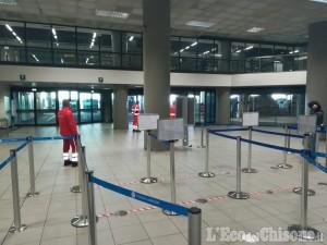 Croce Verde di Perosa all'aeroporto di Caselle: pochi voli ma «dispositivi di sicurezza sempre meno reperibili»
