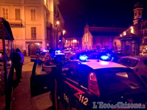 Saluzzo: i controlli dei carabinieri in occasione del Capodanno