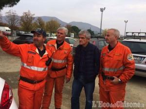Chiamparino a Cumiana: «1200 ettari di bosco bruciati, chiesto lo stato di calamità»