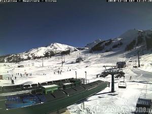 Tanta neve per sciare e freddo intenso