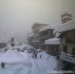 Valle Po sotto la neve, ma Crissolo non è isolata