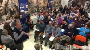 Usseaux: gran parte del paese al dibattito sull'ipotesi di Fusione con il Comune di Pragelato