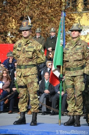 Nuovo comandante Alpini