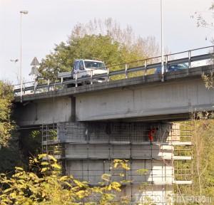 Ponte di Bibiana, partiti i lavori di manutenzione