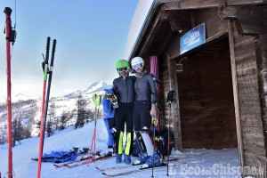 """Sci Alpino Coppa del Mondo, Entusiasmo nel clan azzurro dopo i primi allenamenti sulla """"Kandahar Giovanni Alberto Agnelli"""""""