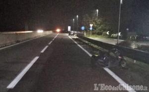 Pinerolo: auto contro scooter, schianto mortale sulla tangenziale nei pressi di Riva