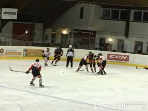 Hockey ghiaccio, con il 7 a 1 in Val Venosta Valpeagle festeggia: è finale