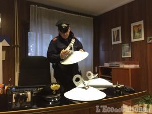 Ladro di antenne Wi-fi, denunciato 30enne di Saluzzo