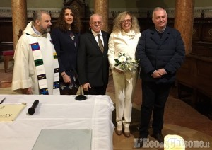 Orbassano: sindaco e consigliera sposi a sorpresa ieri sera