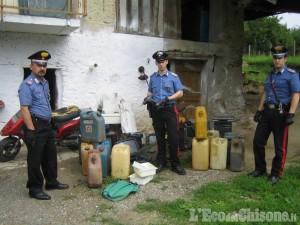 Barge: furti di benzina, due denunciati