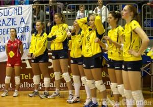 Volley: Giaveno a Piacenza e in Tv