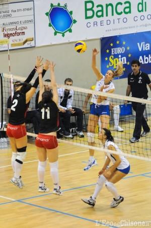 Volley B1 F, a Pinerolo c'è Foppapedretti. Bocce A: Perosa in Trentino