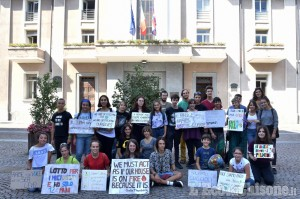Primo presidio di Fridays for Future Pinerolo