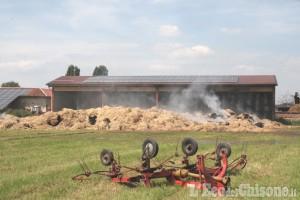 Candiolo: a Ferragosto, incendio alla cascina Prato Fiorito