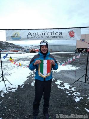 Pinerolesi all'Antarctica marathon, missione compiuta